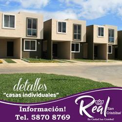 Vendo Casa En Real San Cristobal, Enganche Fraccionado!