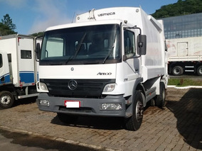 Mercedes-benz 1718 Compactador De Resíduos Usimeca 15m³ 2009