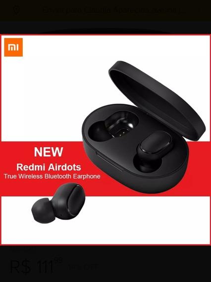 Top. Fone De Ouvido Com Bluetooth Xiaomi Redmi Airdots