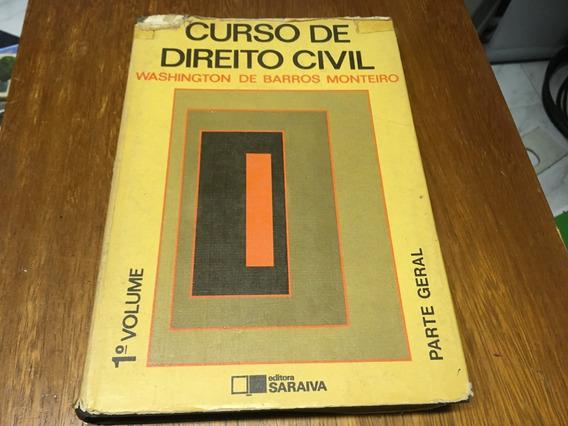 Livro Curso De Direito Civil - 1º Volume Frete R$ 19,00