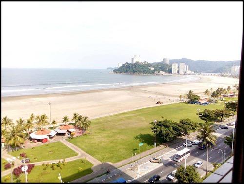 Apartamento Com 2 Dorms, Itararé, São Vicente - R$ 480 Mil, Cod: 1207 - V1207