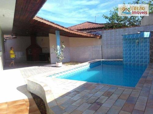 Imagem 1 de 9 de Casa Com 2 Dormitórios À Venda, 200 M² Por R$ 650.000,00 - Praia Do Sonho - Itanhaém/sp - Ca0909