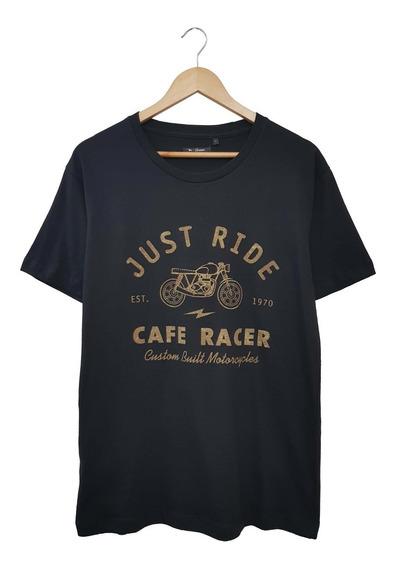Remera Manga Corta Estampa Cafe Racer | Bravo Jeans (28313)