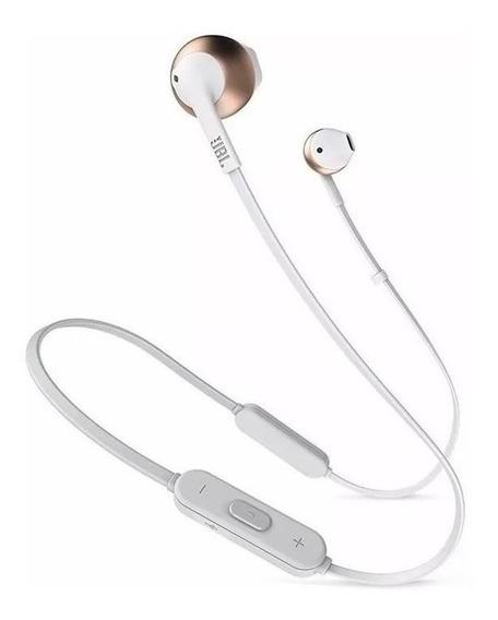 Fone de ouvido sem fio JBL Tune T205BT rose gold