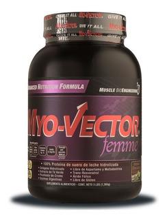 Proteina Myovector Femme 3 Lbs Zero Carbs Todos Los Sabores