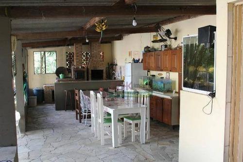 Imagem 1 de 22 de Chácara Com 3 Dormitórios À Venda, 1340 M² Por R$ 720.000,00 - Parque Senhor Do Bonfim - Taubaté/sp - Ch0334