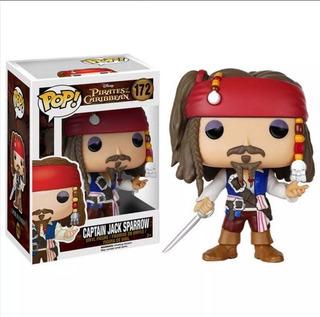 Piratas Del Caribe   Jack Sparrow   Funko Pop   Original