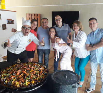 Paellas En Vivo O Delivery Para Eventos Y Fiestas
