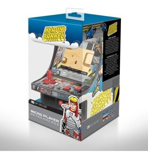 Mini Arcade Video Game Heay Barrel Player Retro Fliperama