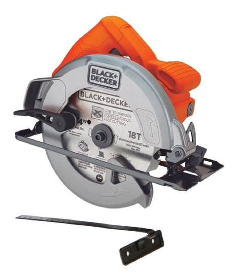 Sierra Circular 7 1/4 1400w 5000rpm Cs1004-b2 Black + Decker