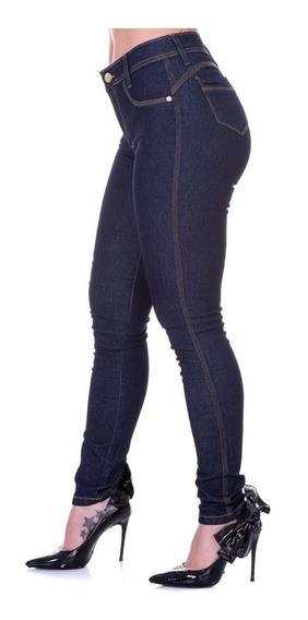 Calça Feminina Jeans Skinny Cintura Alta Selten Frete Gratis