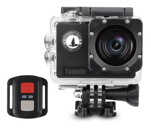 Imagem 1 de 5 de Câmera Filmadora Sport Wifi 4k Com Controle Tomate Mt-1091k