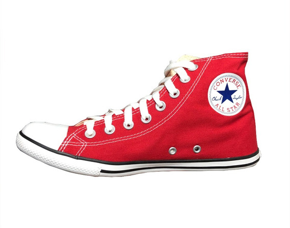 Zapatillas Chuck Taylor All Star Slim Roja Lona Fina
