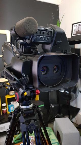 Filmadora 3d Sony Pmw Td300