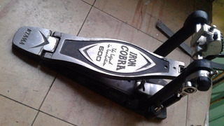 Pedal Bombo Tama Iron Cobra Pedal Hp600 Simple Gtia Envios!