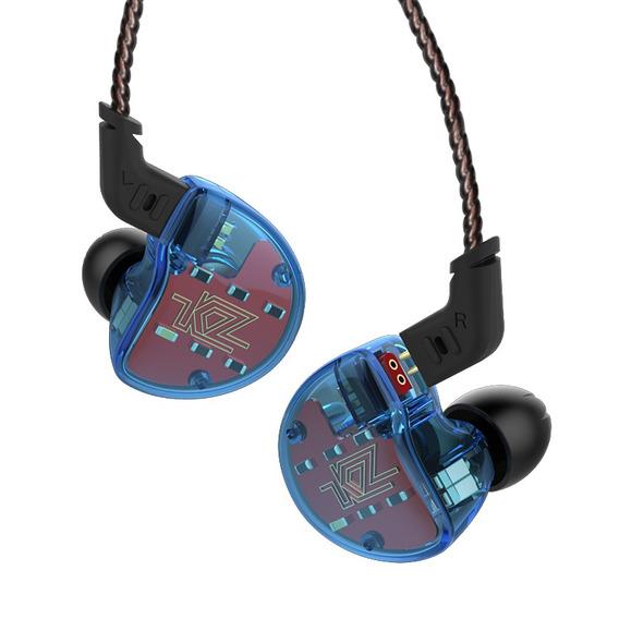 Fone De Ouvido Híbrido Hi-fi Kz Zs10 Com Fio Sem Microfone