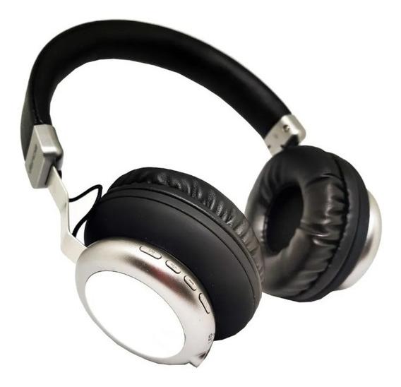 Headfone Fone De Ouvido Bluetooth Aux Super Radio Fm P2 Sd
