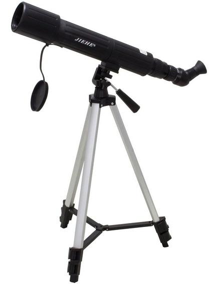 Telescópio Astronômico Profissional Refletor 60mm Maca Jiehe