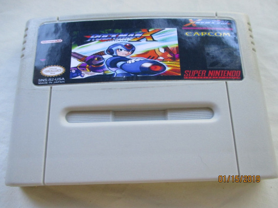 Rockmen X Para Super Nintendo(ler Anúncio)