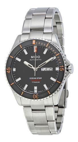 Relógio Mido Ocean Star Captain M026.430.44.061.00  Titânio