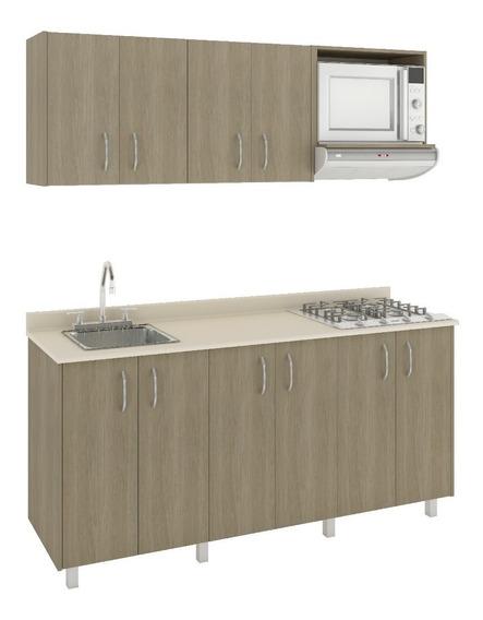 Mueble Casa Lista® Cocina Modular 1,80 Mts