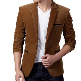 Blazer Veludo Slim Fit Luxo Casual Masculino Importado