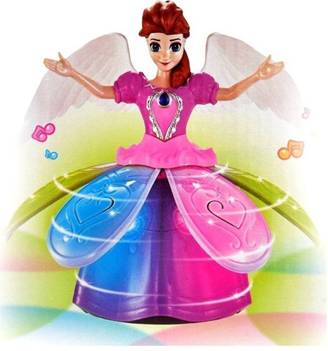 Juguete Frozen Bailarina Musical Bailarina Luces Uce Angel