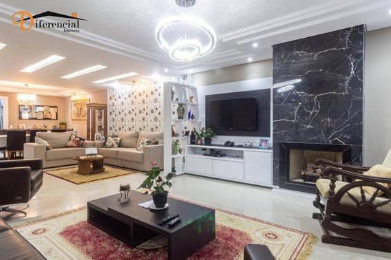 Apartamento Com 4 Dormitórios À Venda, 204 M² Por R$ 1.580.000,00 - Ecoville - Curitiba/pr - Ap2790