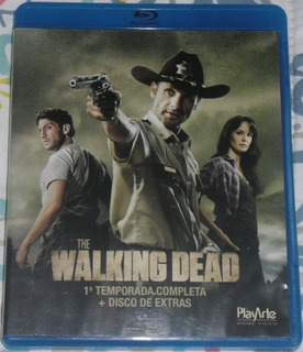The Walking Dead 1º, 2º E 3º Temporadas (blu-ray)