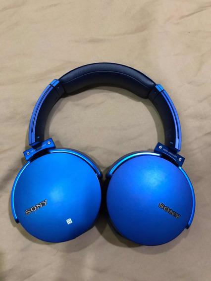 Headphone Sony Wireless Bluetooth Xb950bt Original