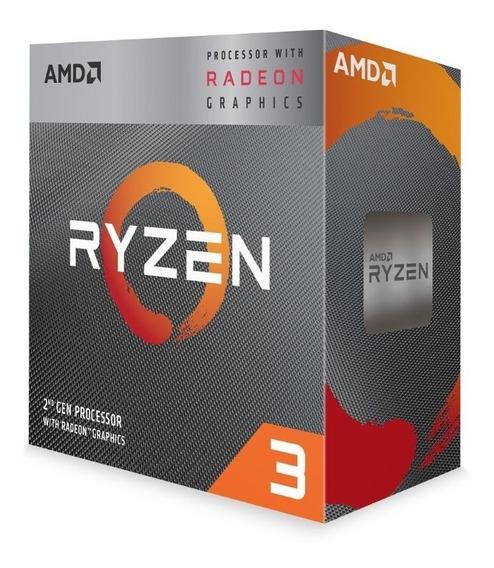 Cpu Amd Ryzen 3 3200g S-am4 65w 3.6ghz Turbo 4 Ghz Cache 6mb
