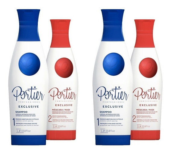 Portier Progressiva Exclusive 1l (2 Kits)