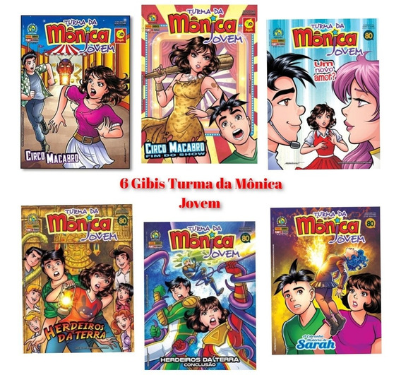 6 Revistas Turma Da Mônica Jovem