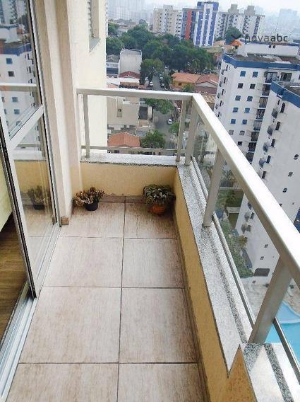 Apartamento Com 3 Dormitórios À Venda, 83 M² Por R$ 450.000 - Vila Gilda - Santo André/sp - Ap1919