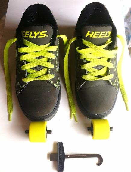 Tênis Heelys Propel Numero 35 Eur 4 Eua E 22cm Muito Novo