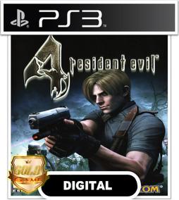 Resident Evil 4 Ps3 Psn Envio Agora Jogos Baratos Digital