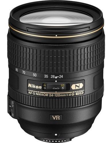 Lente Nikon Zoom Af-s 24-120mm F/4g Ed Vr - Lj. Platinum