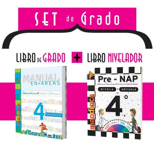 Manual En Áreas 4 Bonaerense (actualizado) - Ed. Mandioca
