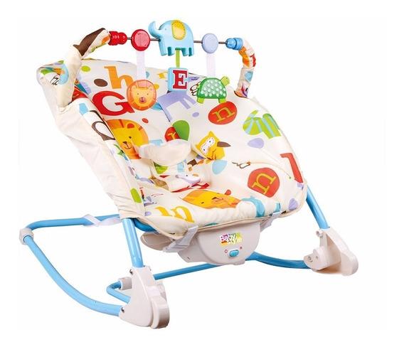 Cadeira Cadeirinha Bebê Descanso Vibratória Musical Letrinha