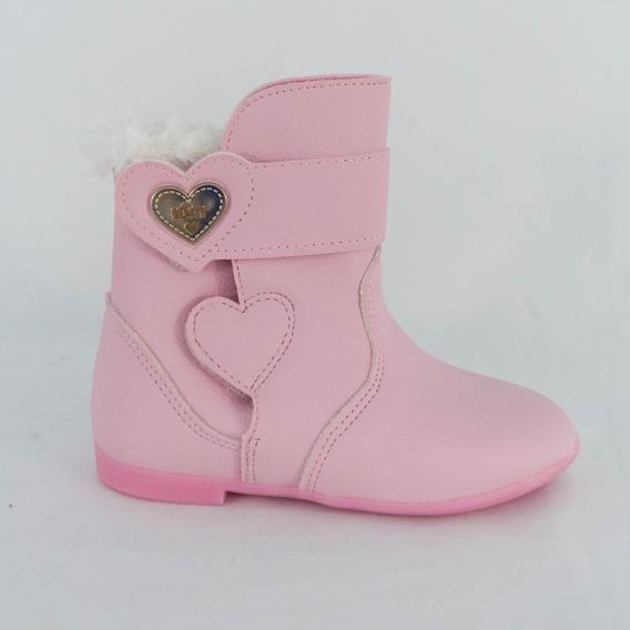 Bota Kidy 154-0136 Soft Rosa Bebê Islen Calçados