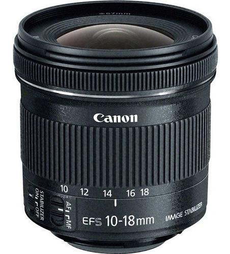 Lente Canon 10-18mm Is Stm Original 1 Ano De Garantia