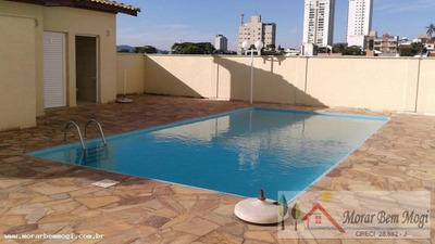 Apartamento Para Venda Em Mogi Das Cruzes, Alto Do Ipiranga - 3095