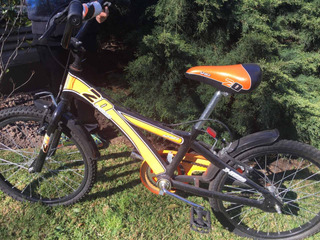 Bicicleta Rodado 20 X Terra Impecable Con Cambios Shimano