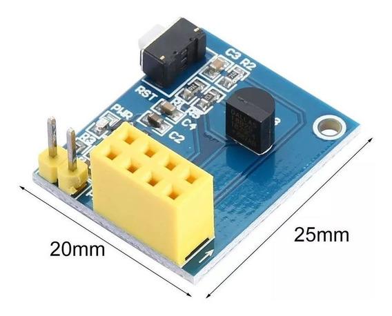 Shield Sensor De Temperatura Ds18b20 Para Esp8266 Esp-01