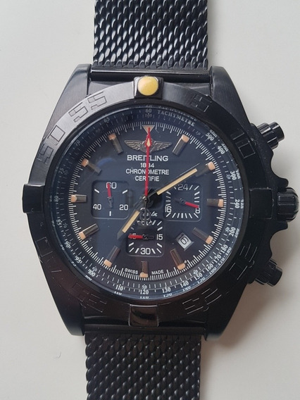 Relógio Breitling Avenger Ab0110 Black