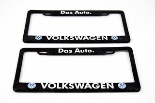 Juego Marcos Portaplacas Porta Placa Volkswagen