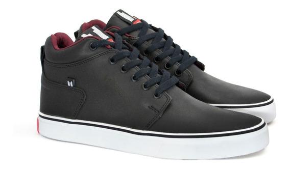 Zapatillas Botitas Skate Bota Cuero Vacuno Base De Caucho / Tor Shoes