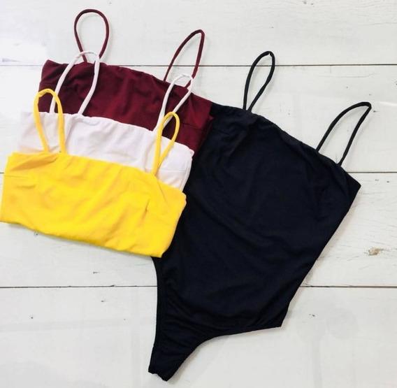 Bori/body Reto Plus Size Com Bojo 46/48 Roupa Feminina