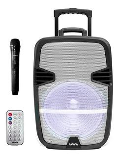 Parlante Portátil Aiwa 15 Pulgadas Bluetooth Aw-p1510d