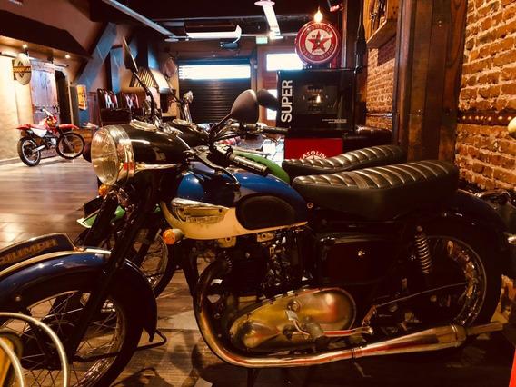 Triumph T100 500 Cc Año 1948 Moto De Coleccion Pro Seven!!